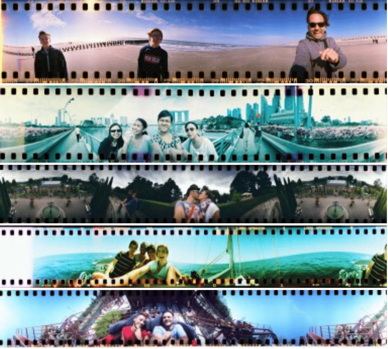 Ejemplos de fotos tomadas con la cámara Lomográfica Spinner 360°