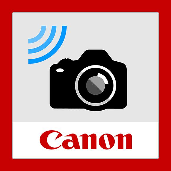 Logo de Camera Connect, aplicación de Canon para disparar en remoto