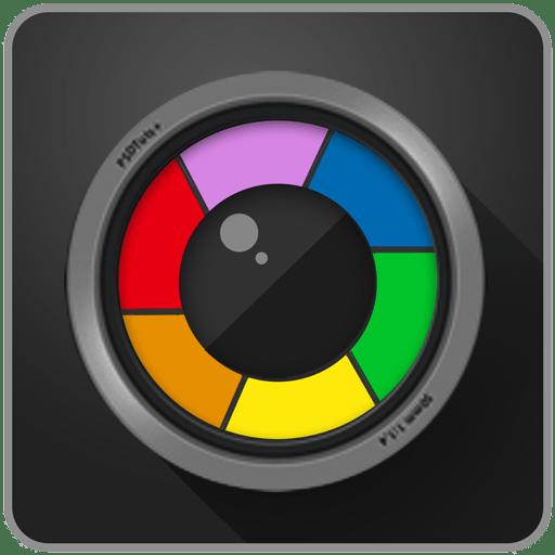 Logo camera zoom FX premium