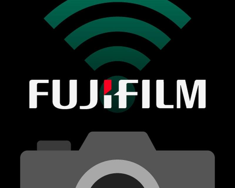 Logo aplicación en remoto de Fujifilm