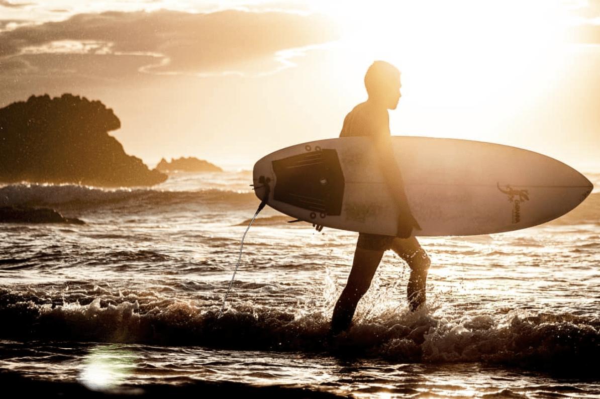 Fotografía ganadora del fotoreto107 en la playa