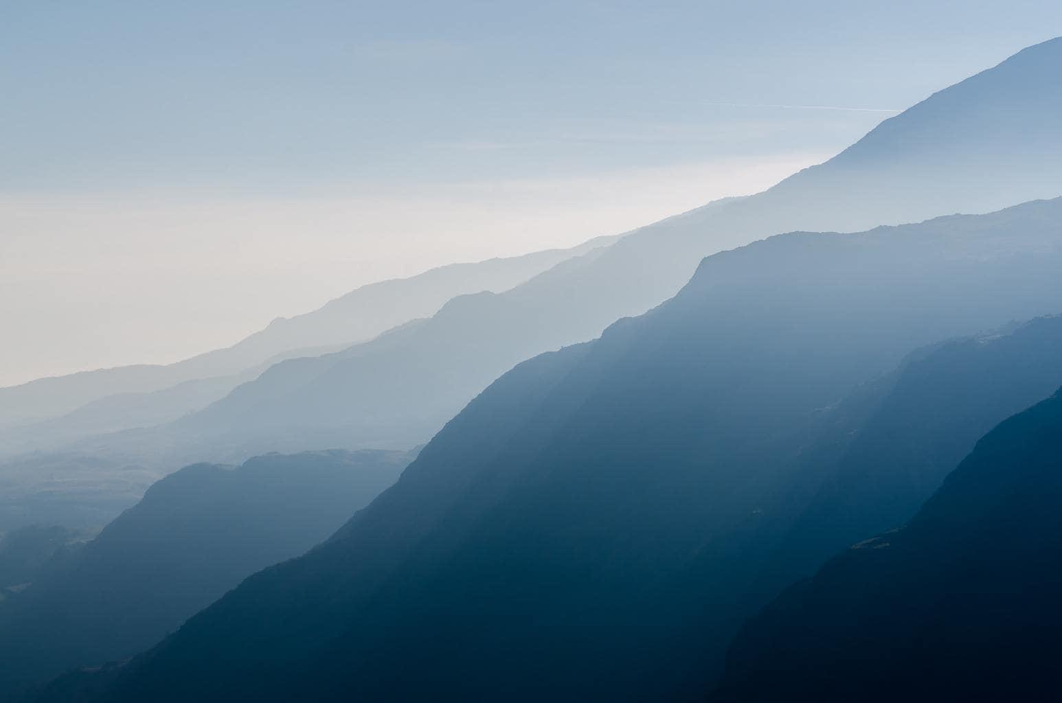paisaje con distancia focal de 135mm