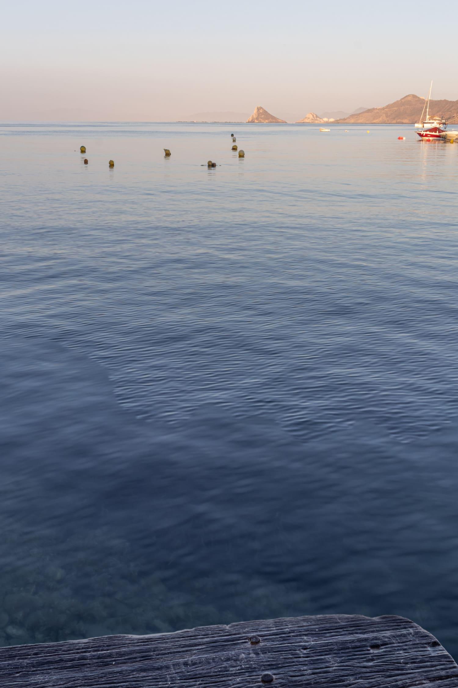 paisaje de mar resultado de bracketing