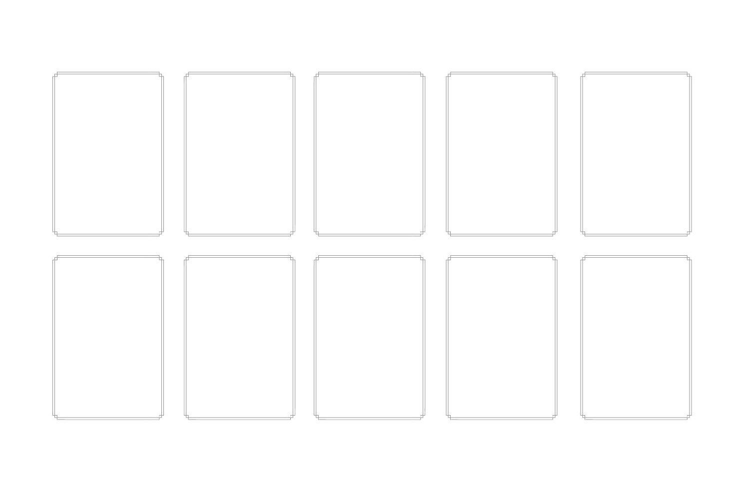 Gráfico de panorámica con dos filas