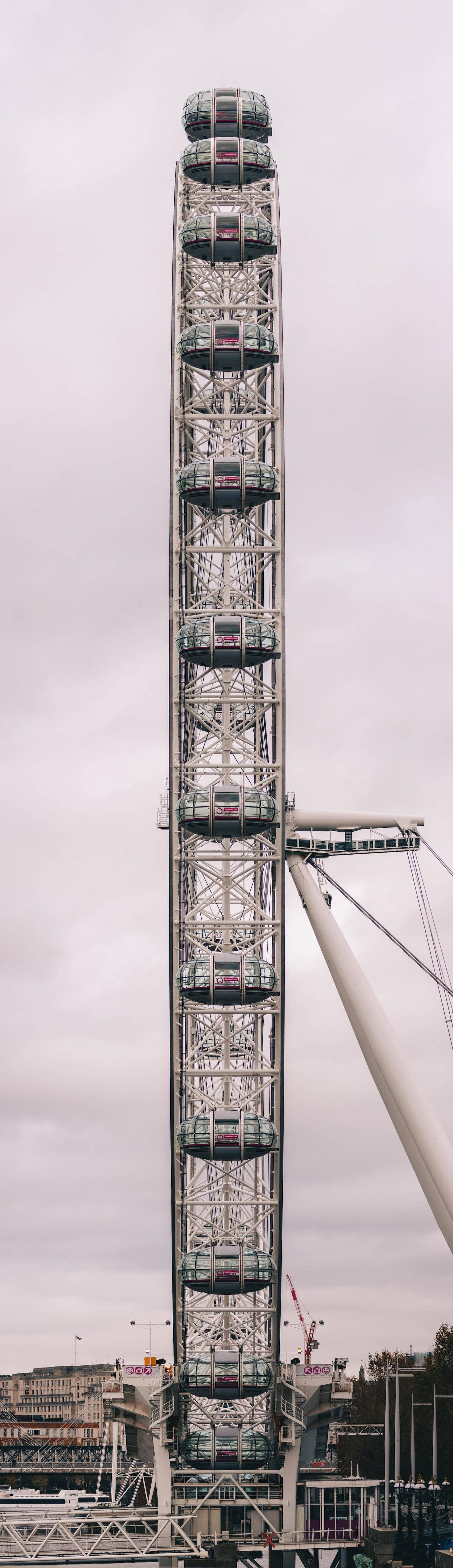 Panorámica vertical del London Eye
