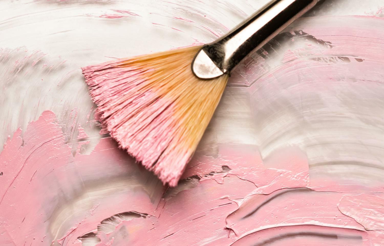 Pincel y pintura