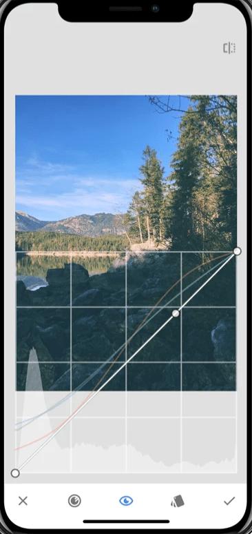 app móvil edición snapseed