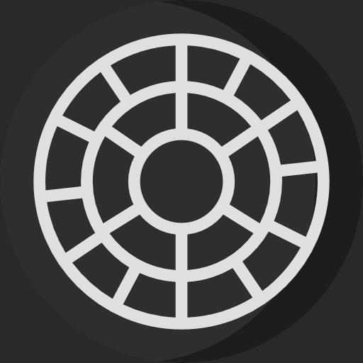 logo app móvil para edición VSCO