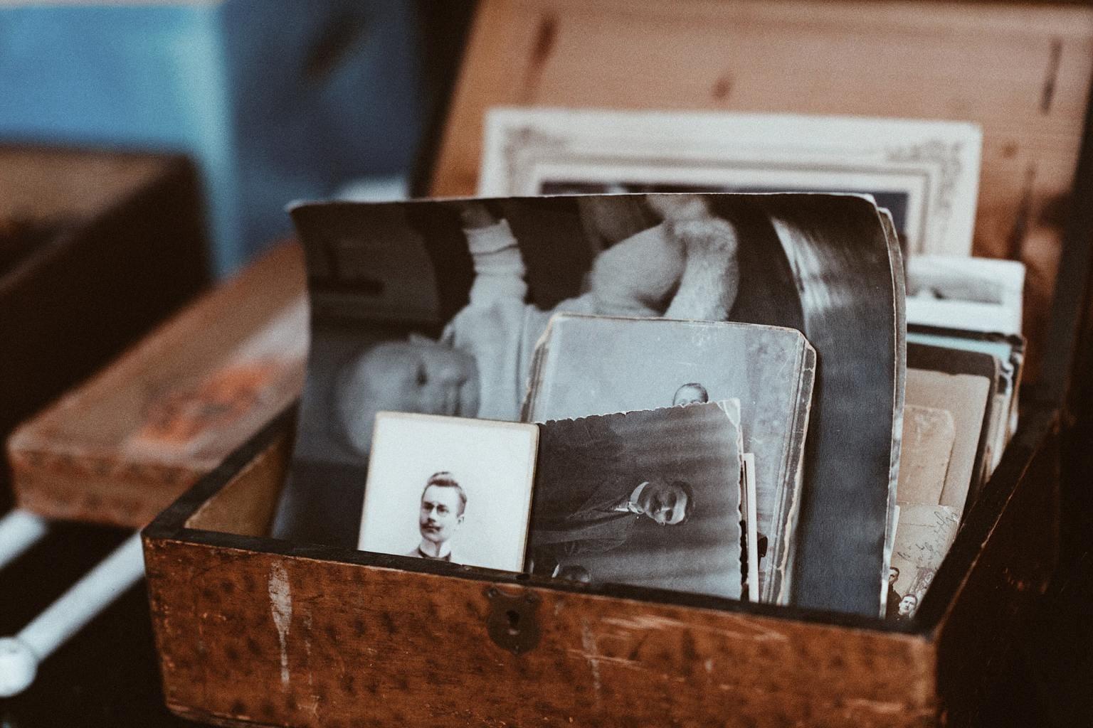 caja fotos antiguas