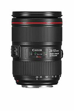 Objetivo Canon 24-105mm