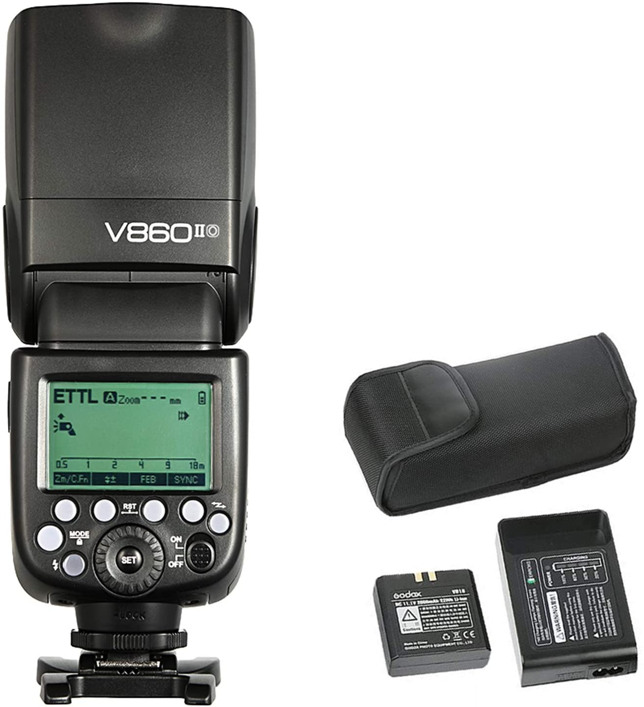 Flash Godox Ving V860II compatible con Olympus