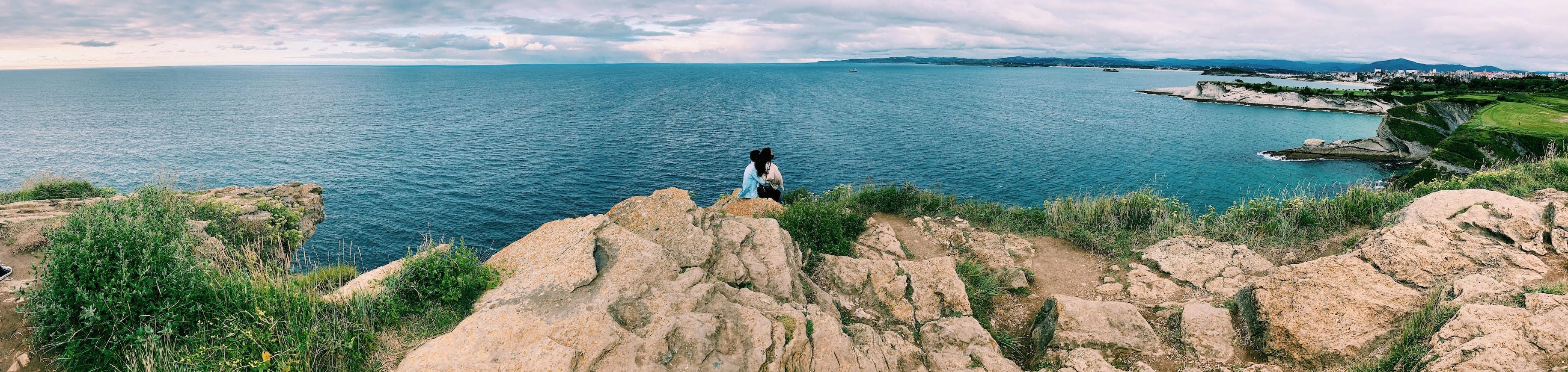 Vistas desde el Faro de Santander tomadas con smartphone