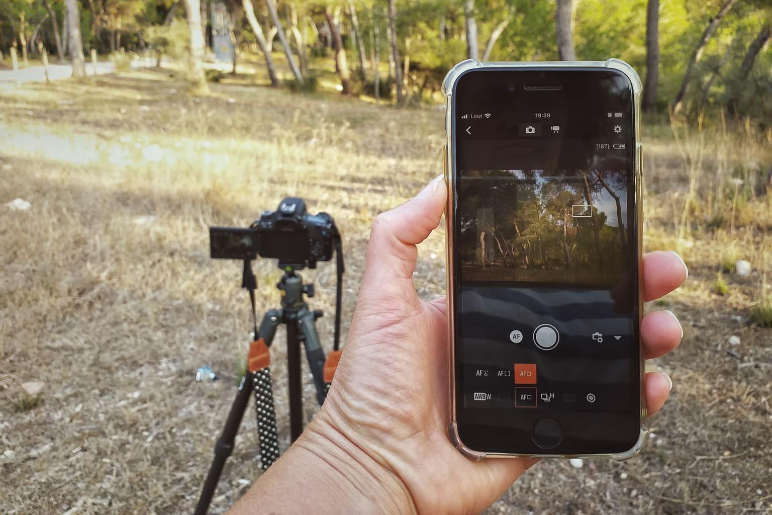 camara controlada en remoto por smartphone