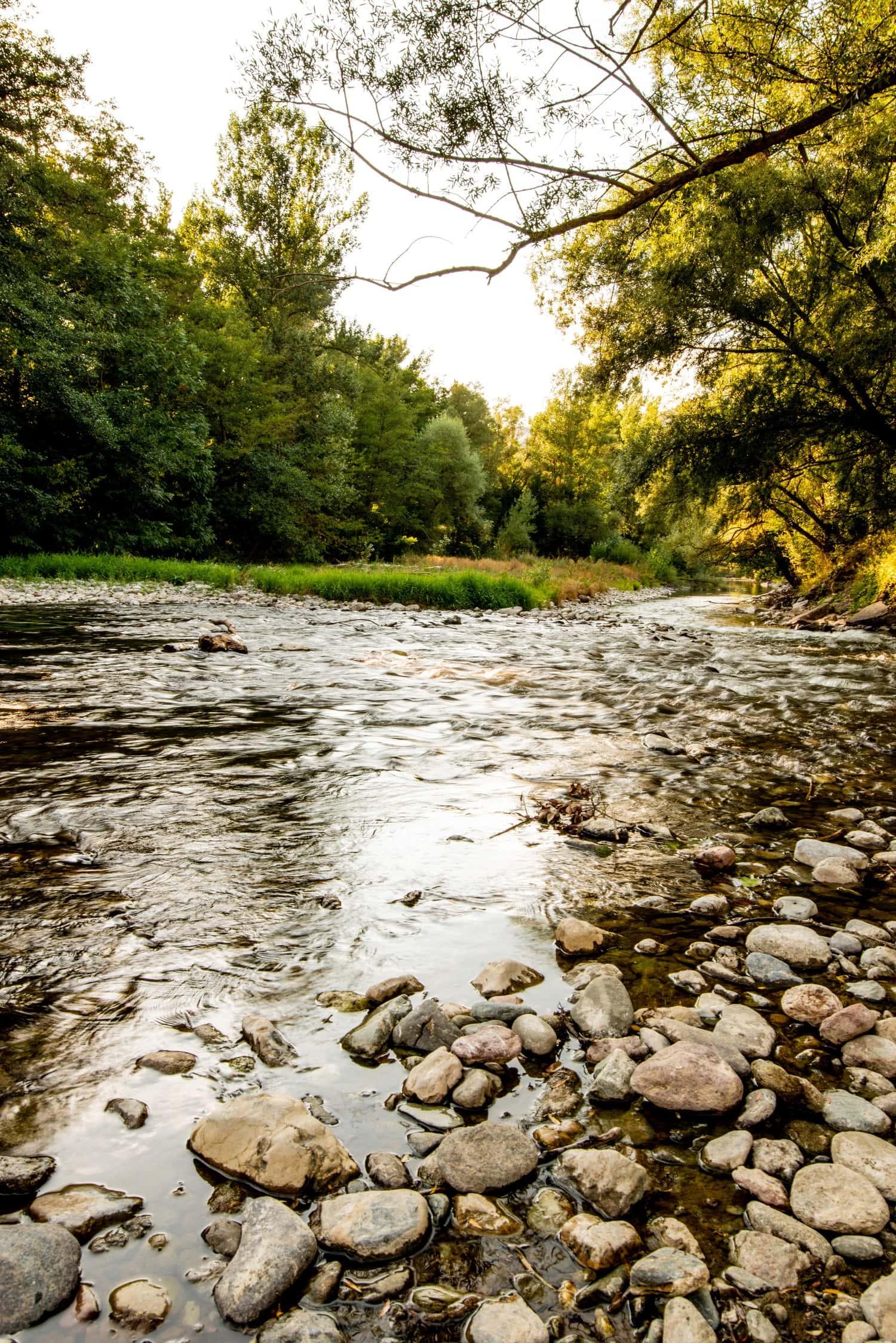 foto de río sin filtro ND