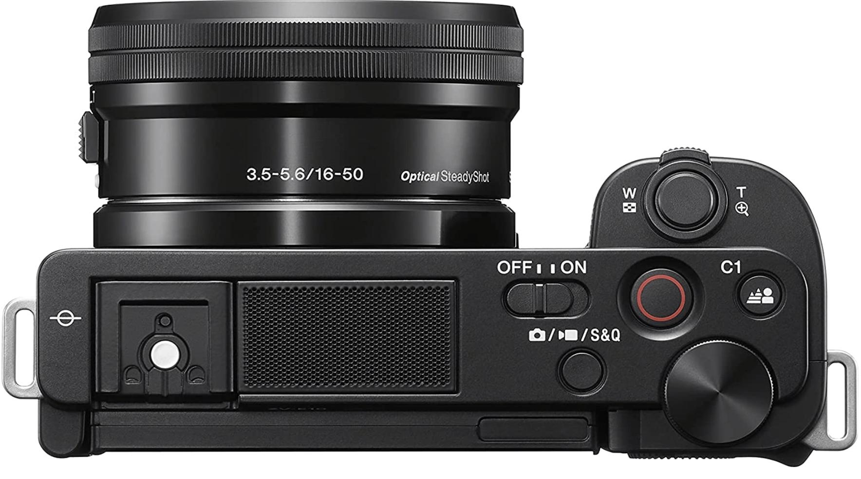 vista superior Sony ZV-E10