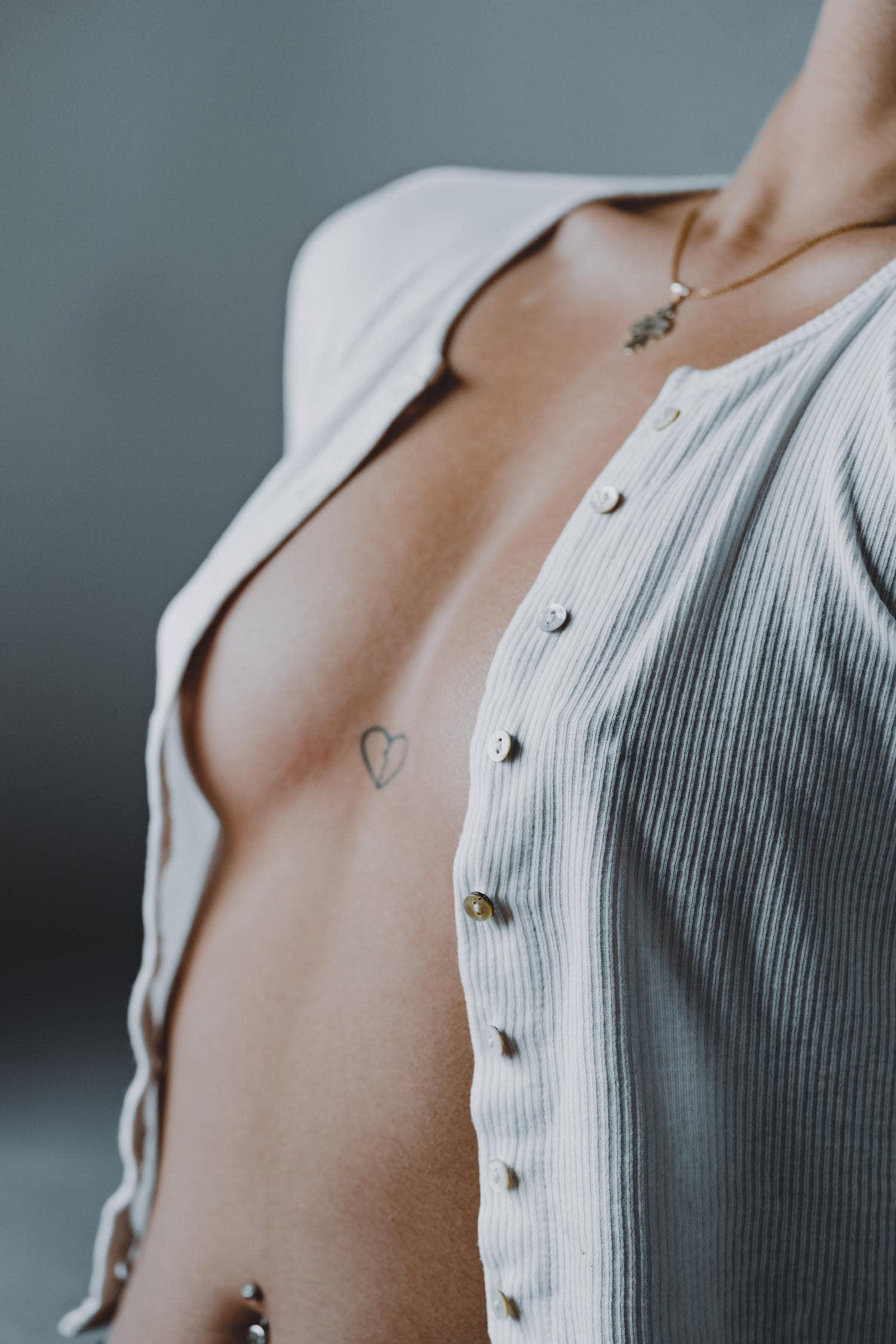 fotografia boudoir torso