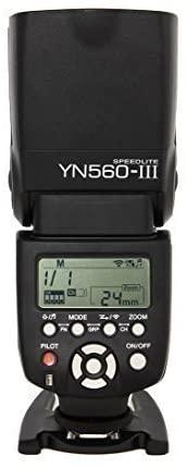 Flash externo Yongnuo YN-560 III compatible con cámaras Olympus