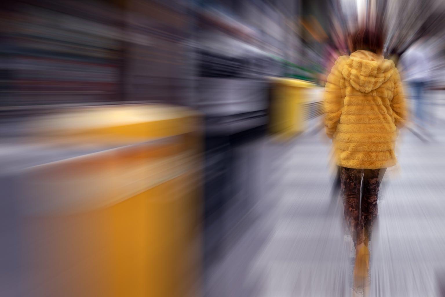 Fotografía callejera con zooming