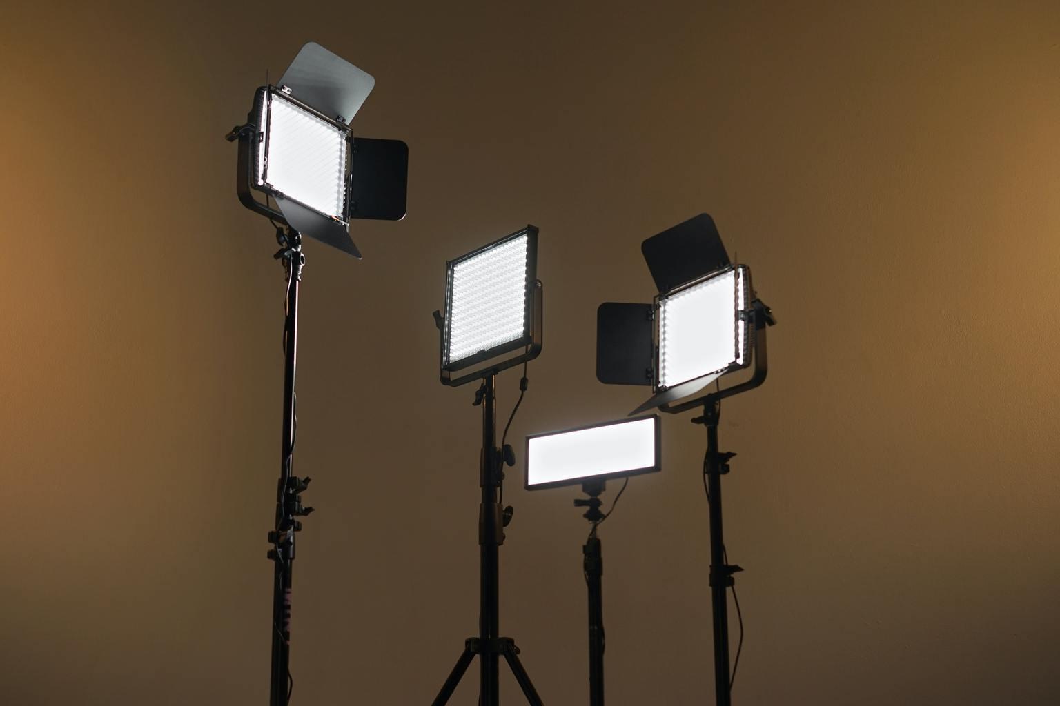 focos de luz continua para fotografía