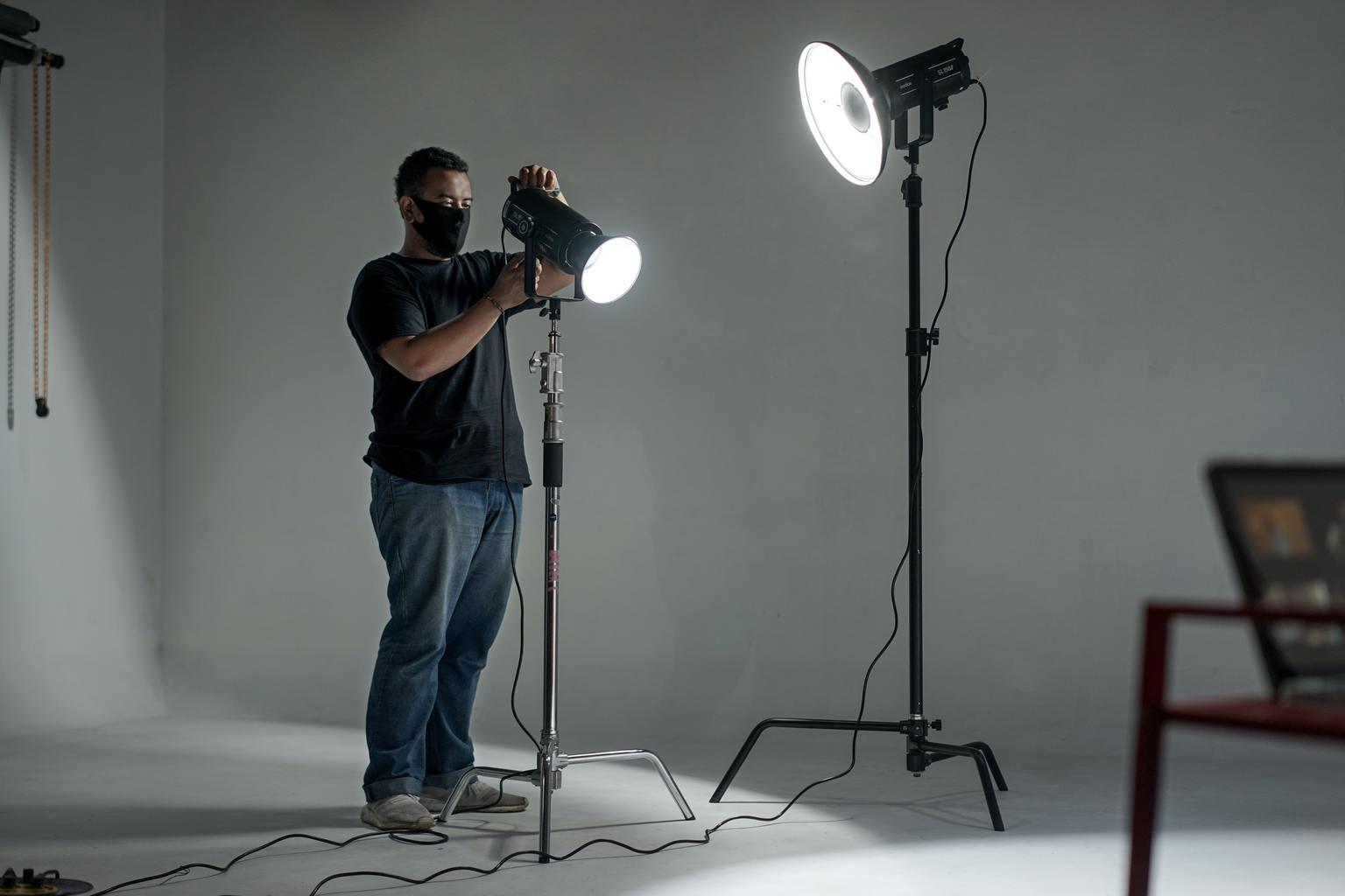 luz continua fotografo
