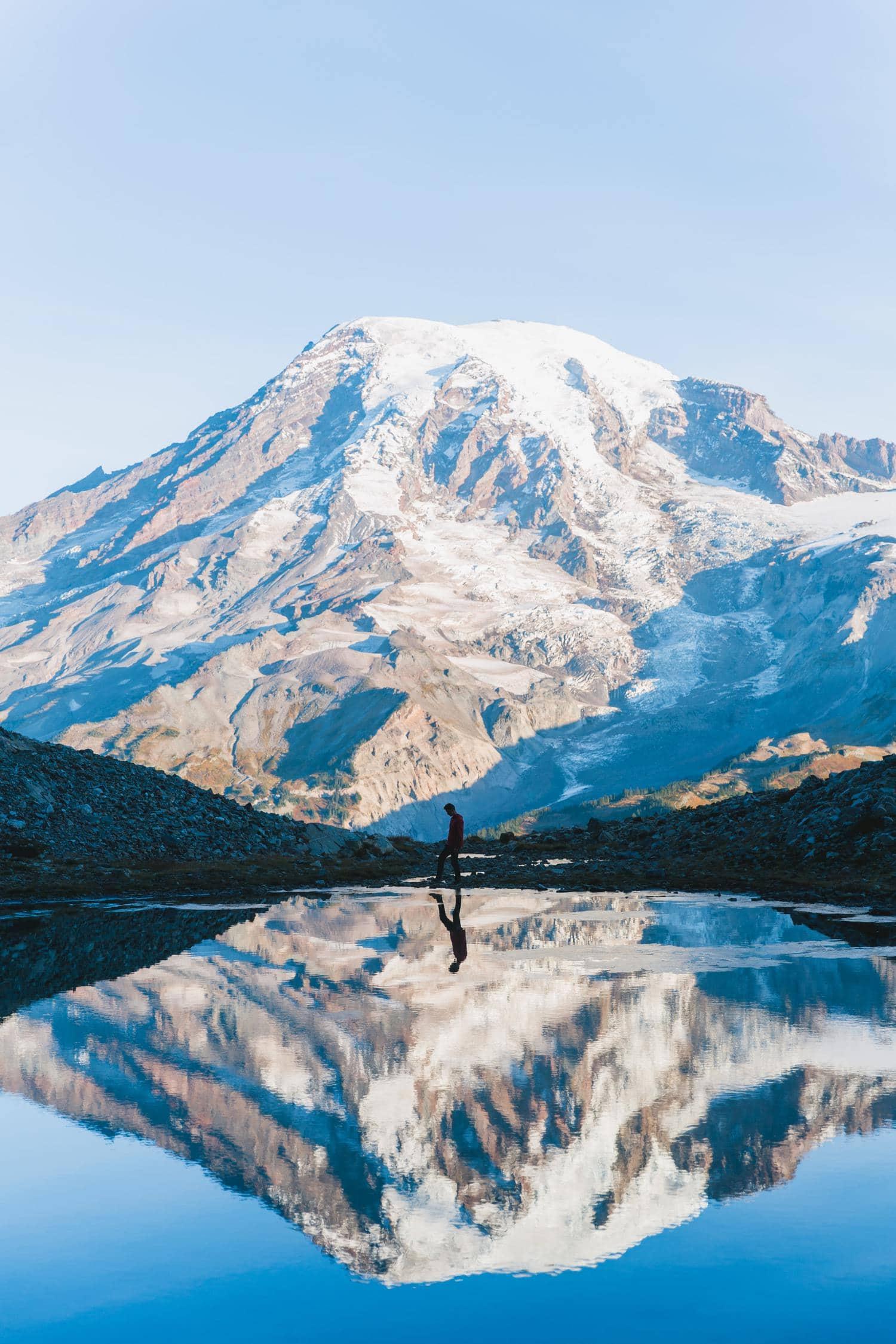fotografía naturaleza montaña reflejo